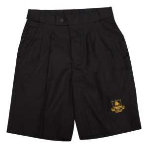 Whakatane HS Boys School Shorts Black